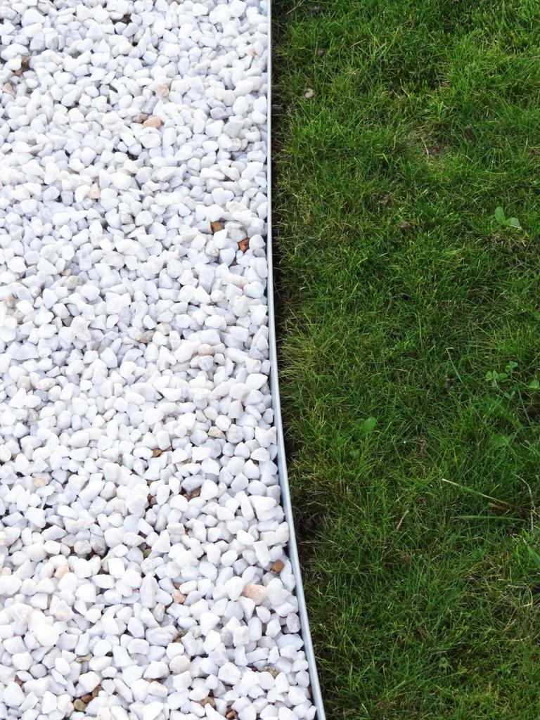 Bordure Métallique En Acier Galvanisé H100 Mm X L955 Mm encequiconcerne Bordure Jardin Acier Corten Jardiland