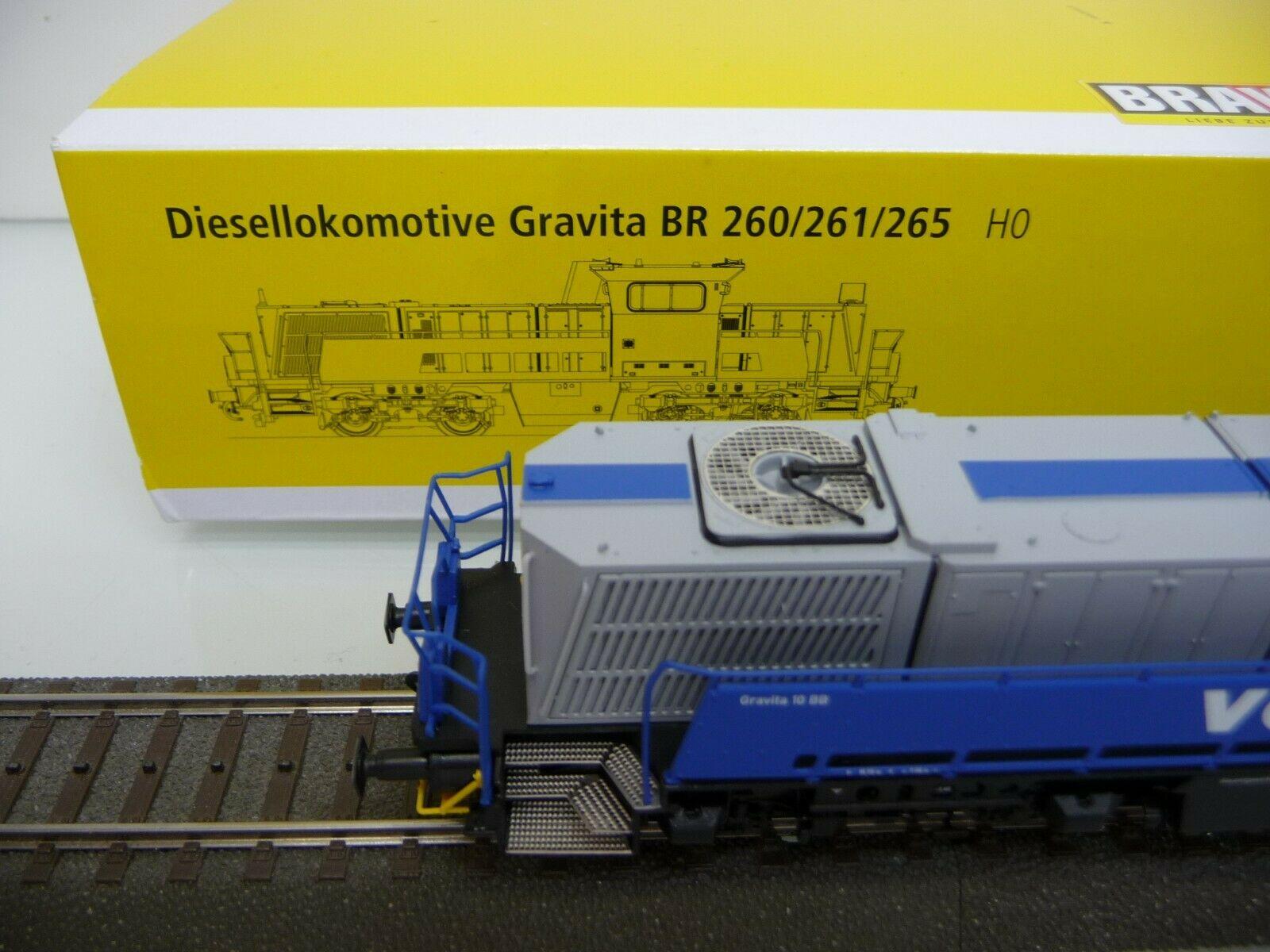 Brawa H0 42789 Diesellok 10Bb V 261 Gravita Voith Für Märklin Ac Digital  Neuware encequiconcerne Lit Gravita