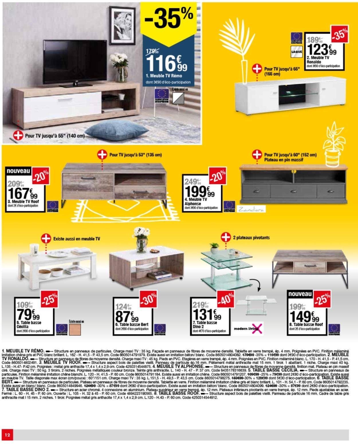 But Catalogue Actuel 12.05 - 06.07.2020 [12] - Catalogue-24 concernant Meuble Tv Alphonse But
