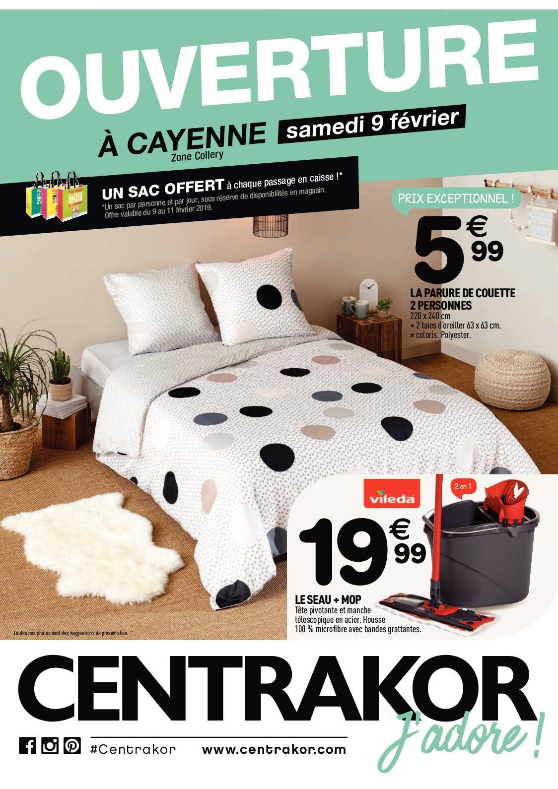 Calaméo - Catalogue Centrakor - Ouverture - Édition Guyane intérieur Rideau De Porte Centrakor