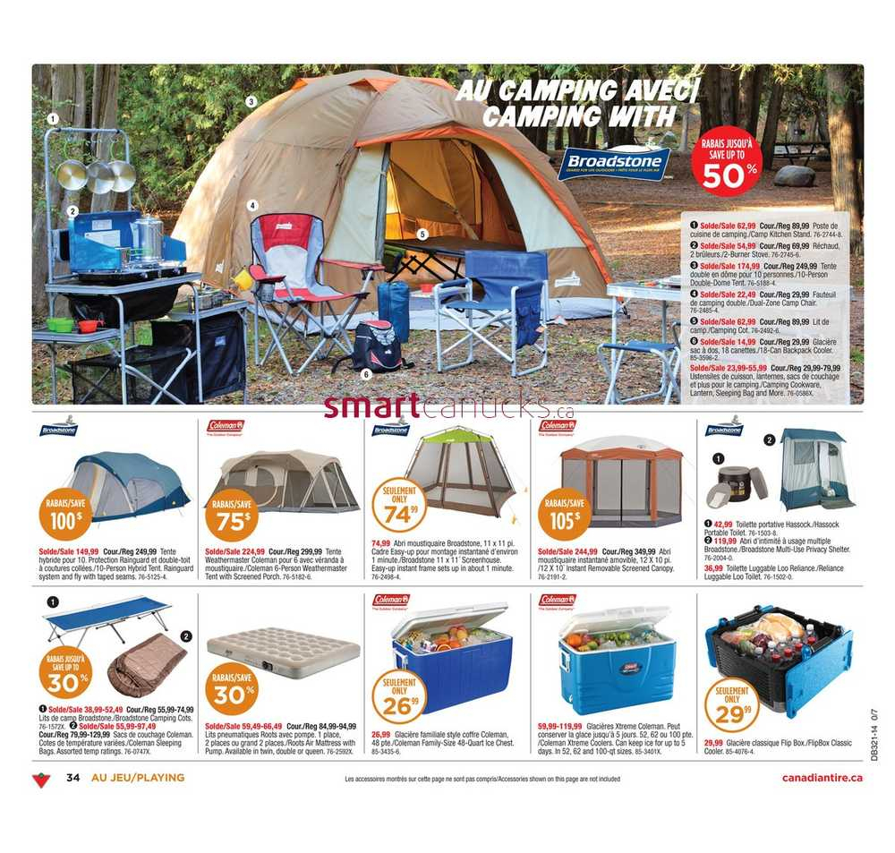 Canadian Tire (Qc) Flyer May 16 To 22 encequiconcerne Toilette Portative Canadian Tire