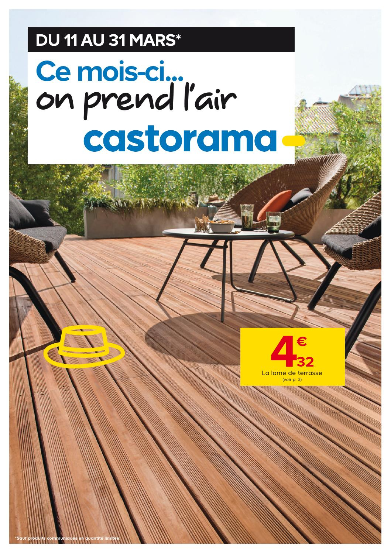 Castorama Catalogue 11 31Mars2015 By Promocatalogues - Issuu tout Couvre Joint Bois Castorama