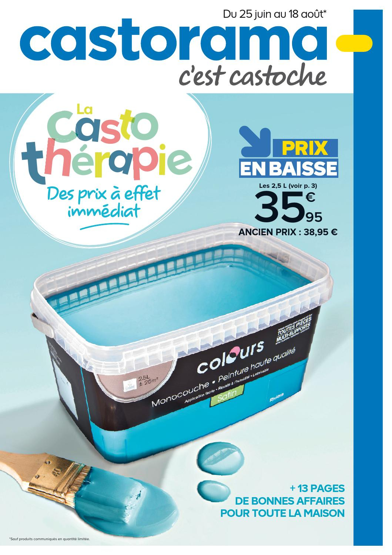 Castorama Catalogue 25Juin 18Aout2014 By Promocatalogues concernant Mousse Rembourrage Castorama