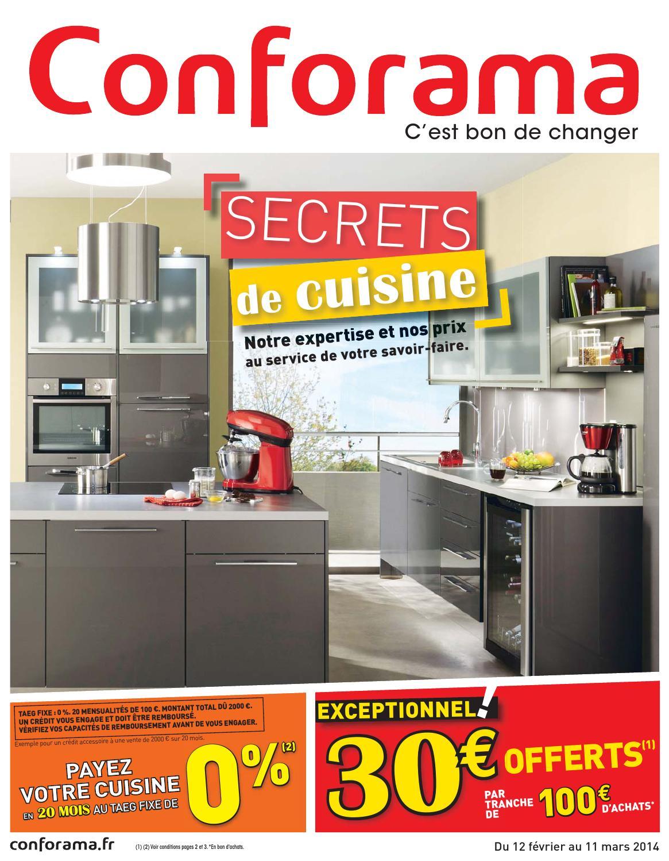 Catalogue Conforama - 12.02-11.03.2014 By Joe Monroe - Issuu dedans Colonne Pour Four Encastrable Et Micro Onde Conforama