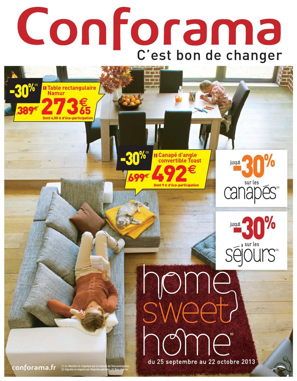 Catalogue Conforama - 25.09-22.10.2013 By Joe Monroe - Issuu intérieur Meuble Tv Avec Enceinte Integre Conforama