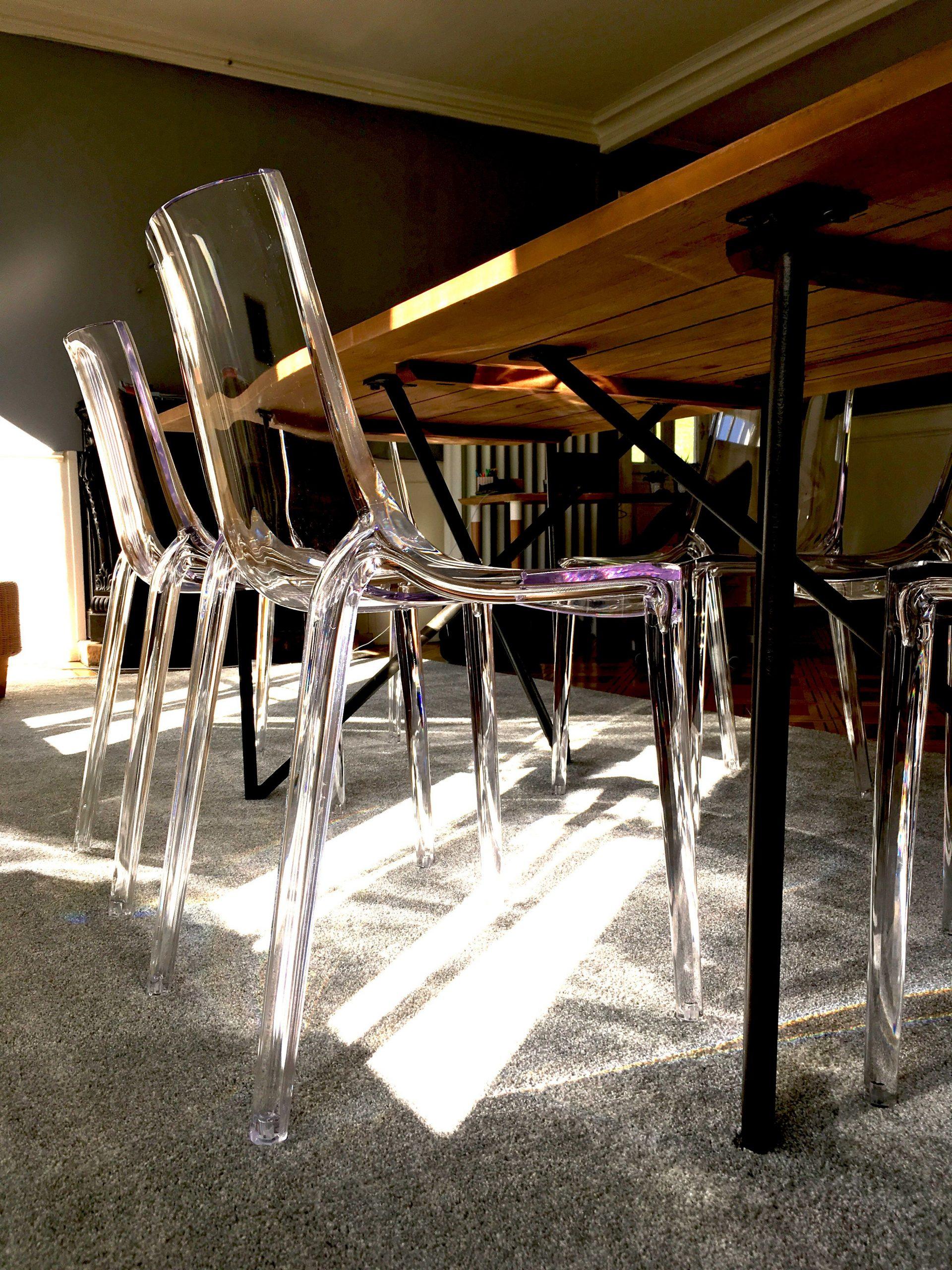 Chaises Design Empilables Transparentes Intérieur encequiconcerne Chaises Transparentes Castorama