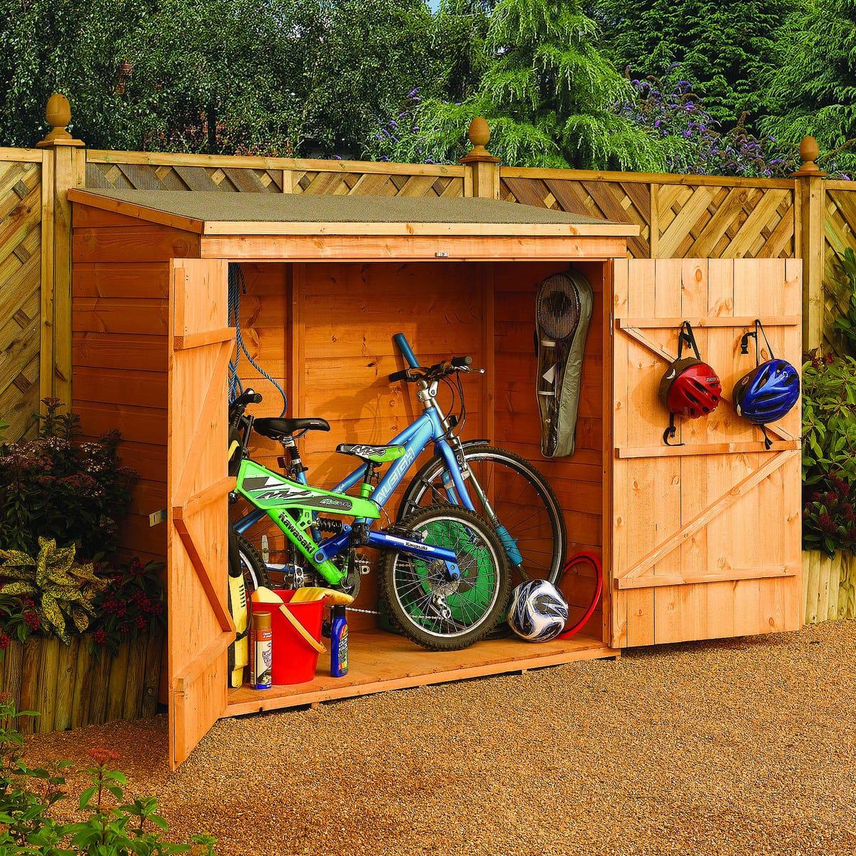 Choisir Son Abri De Jardin: Le Guide Complet Et Nos Conseils tout Abri Vélo À Faire Soi-Même