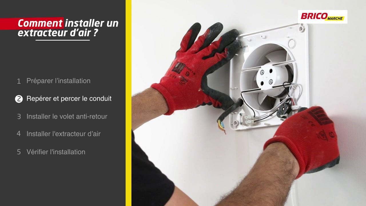 Comment Installer Un Extracteur D'Air ? (Bricomarché) encequiconcerne Extracteur D'Air Castorama