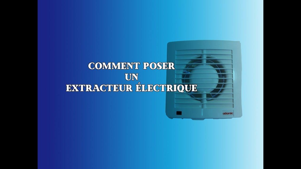 Comment Poser Un Extracteur Électrique dedans Extracteur D'Air Castorama