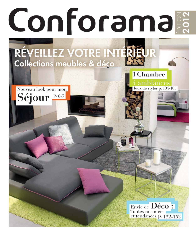 Conforama_Fr-Meubles & Déco2012 By Proomo France - Issuu intérieur Montage Bz Conforama
