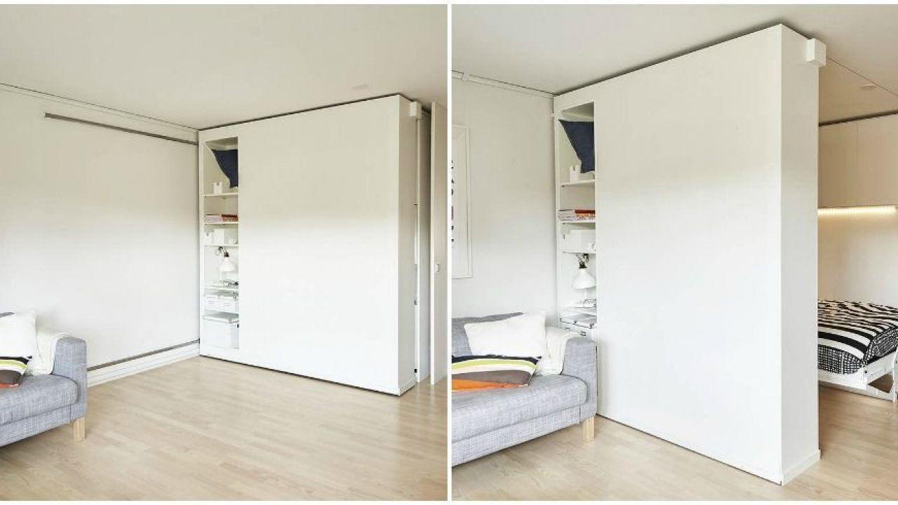 Des Cloisons Mobiles Pour Adapter Le Volume De Mes Combles À avec Cloison Amovible Ikea