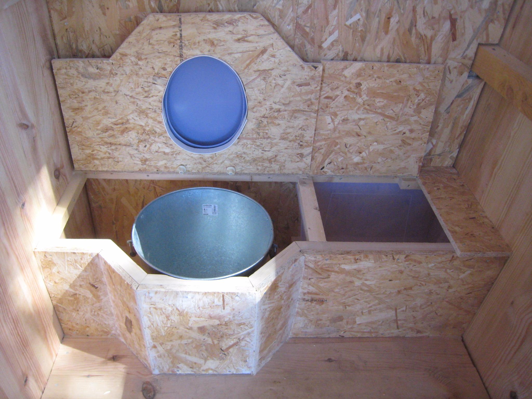 Des Toilettes Sèches Au Fond Du Jardin - Créations Et à Toilette Sèche Ikea