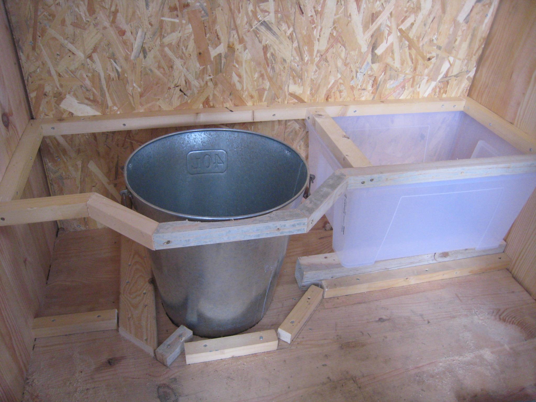 Des Toilettes Sèches Au Fond Du Jardin - Créations Et serapportantà Toilette Sèche Ikea