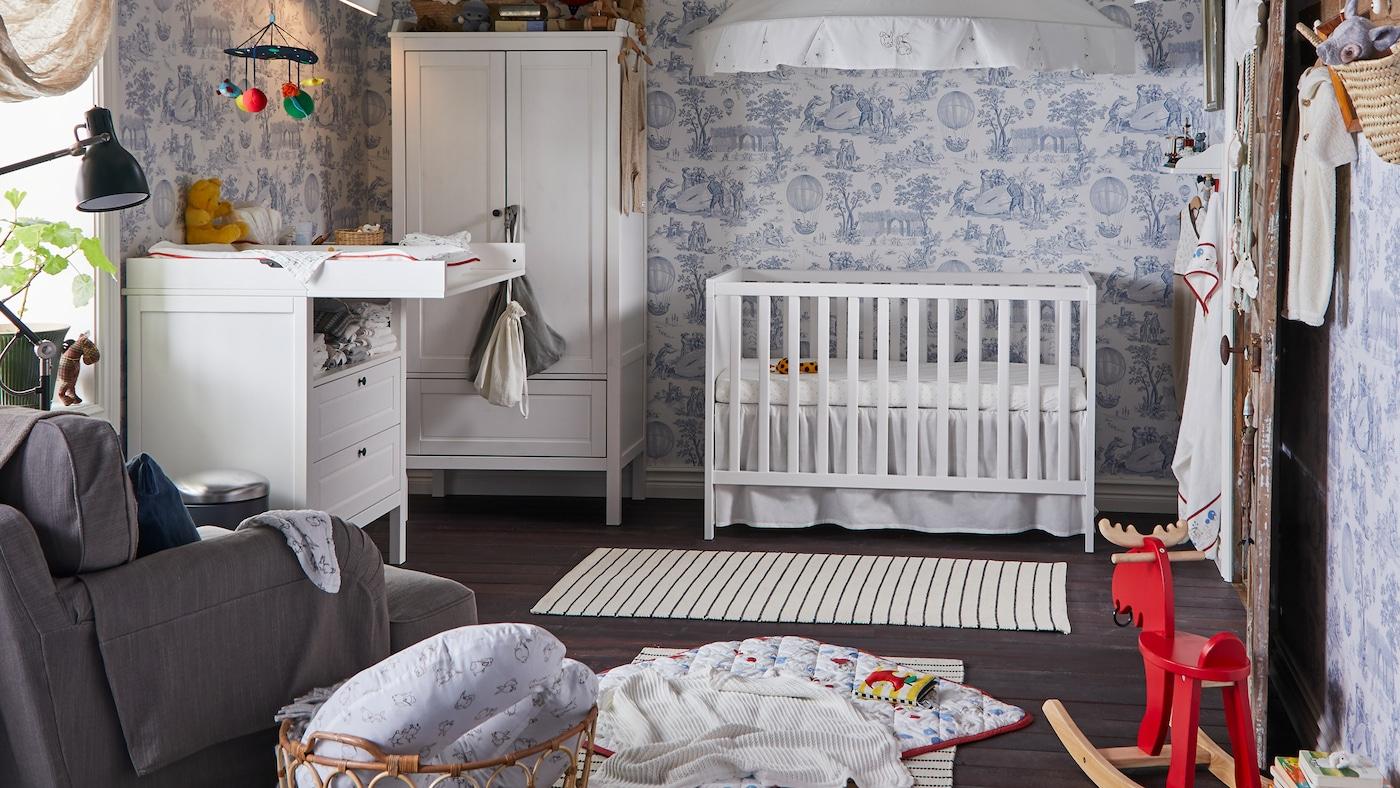 Galerie D'Idées Inspirantes Pour Chambres D'Enfant - Ikea concernant Rideaux Chambre Bébé Ikea