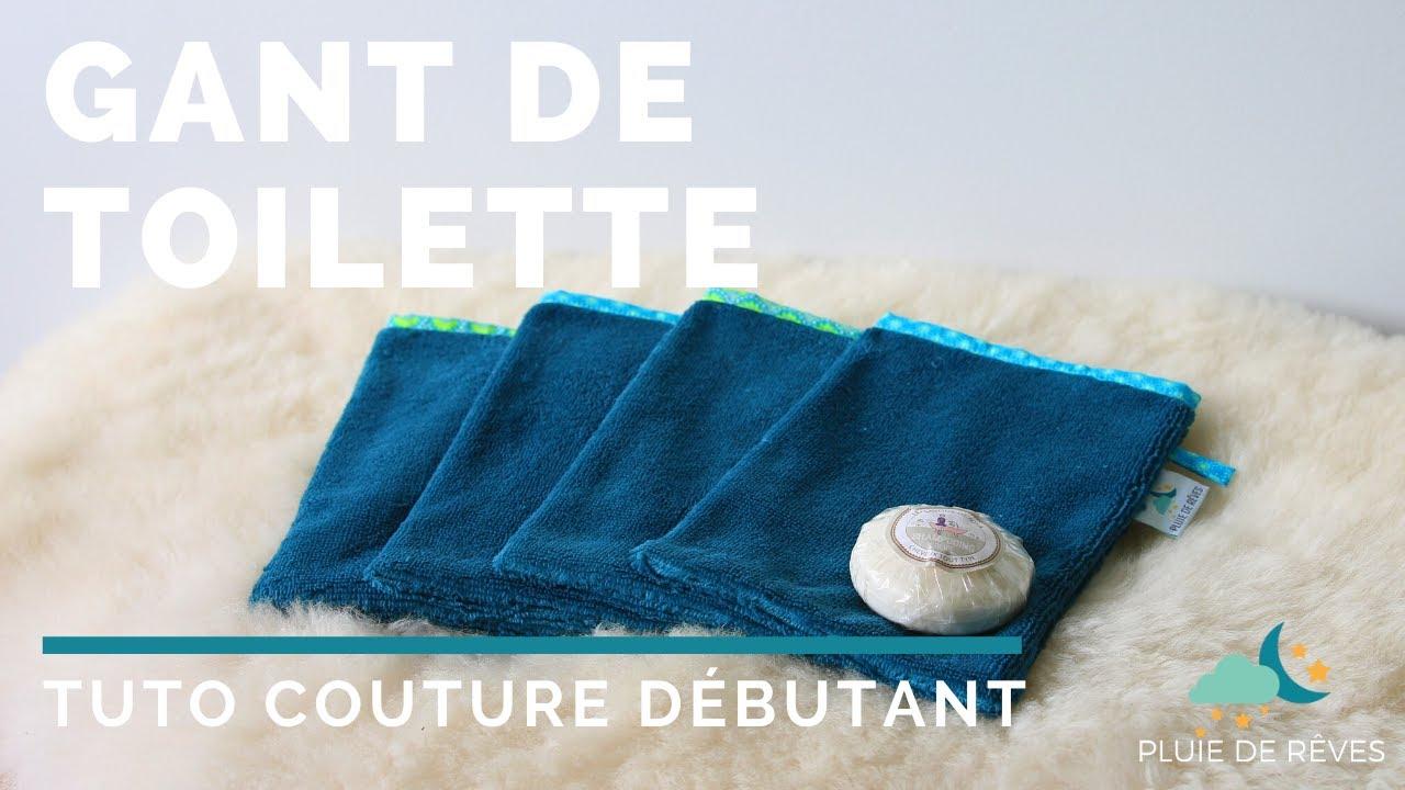 Gant De Toilette En Tissu Éponge : Tuto Couture Facile ! concernant Tuto Mini Gant De Toilette