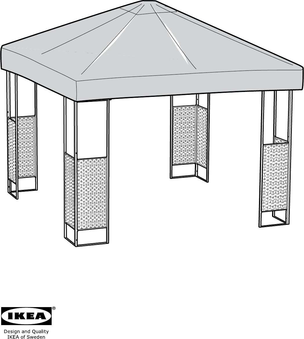 Ikea Ammero intérieur Toile Pour Tonnelle 3X3 Ikea