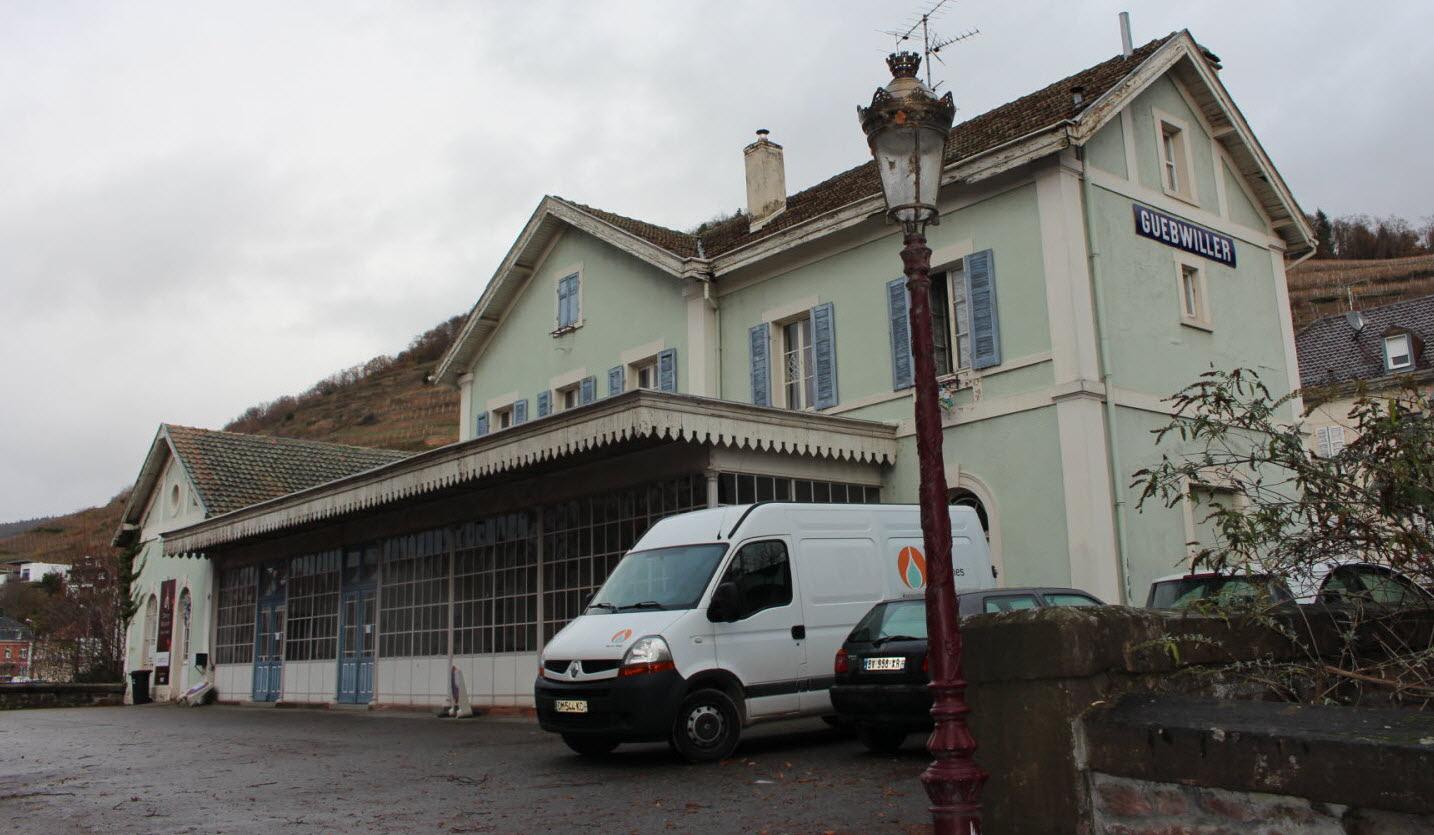Insolite. Guebwiller: La Gare En Vente Sur Le Bon Coin intérieur Le Bon Coin Alsace