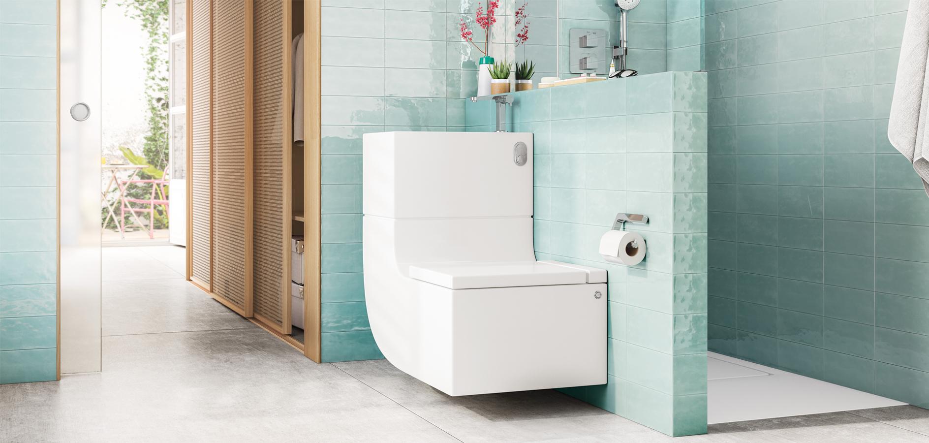 Lavabo Et Wc En Une Seule Pièce? La Révolution W + W │Roca Life encequiconcerne Toilette Lavabo Intégré Canada