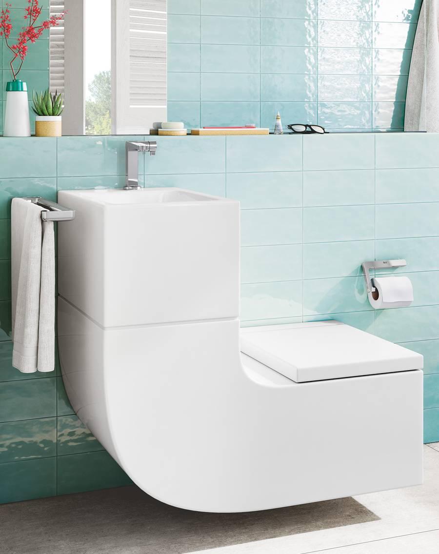 Lavabo Et Wc En Une Seule Pièce? La Révolution W + W │Roca Life serapportantà Toilette Lavabo Intégré Canada
