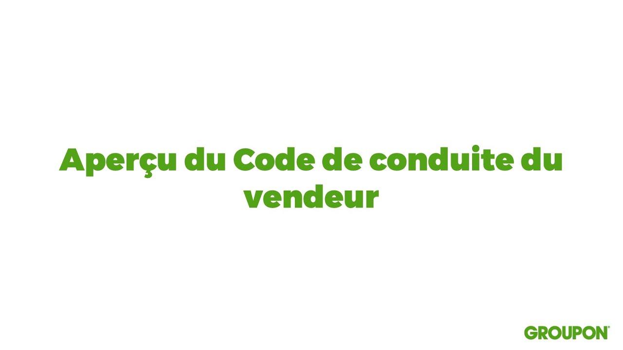 Le Code De Conduite Vendeur De Groupon Fixe Les Directives intérieur Groupon Rideaux Thermiques
