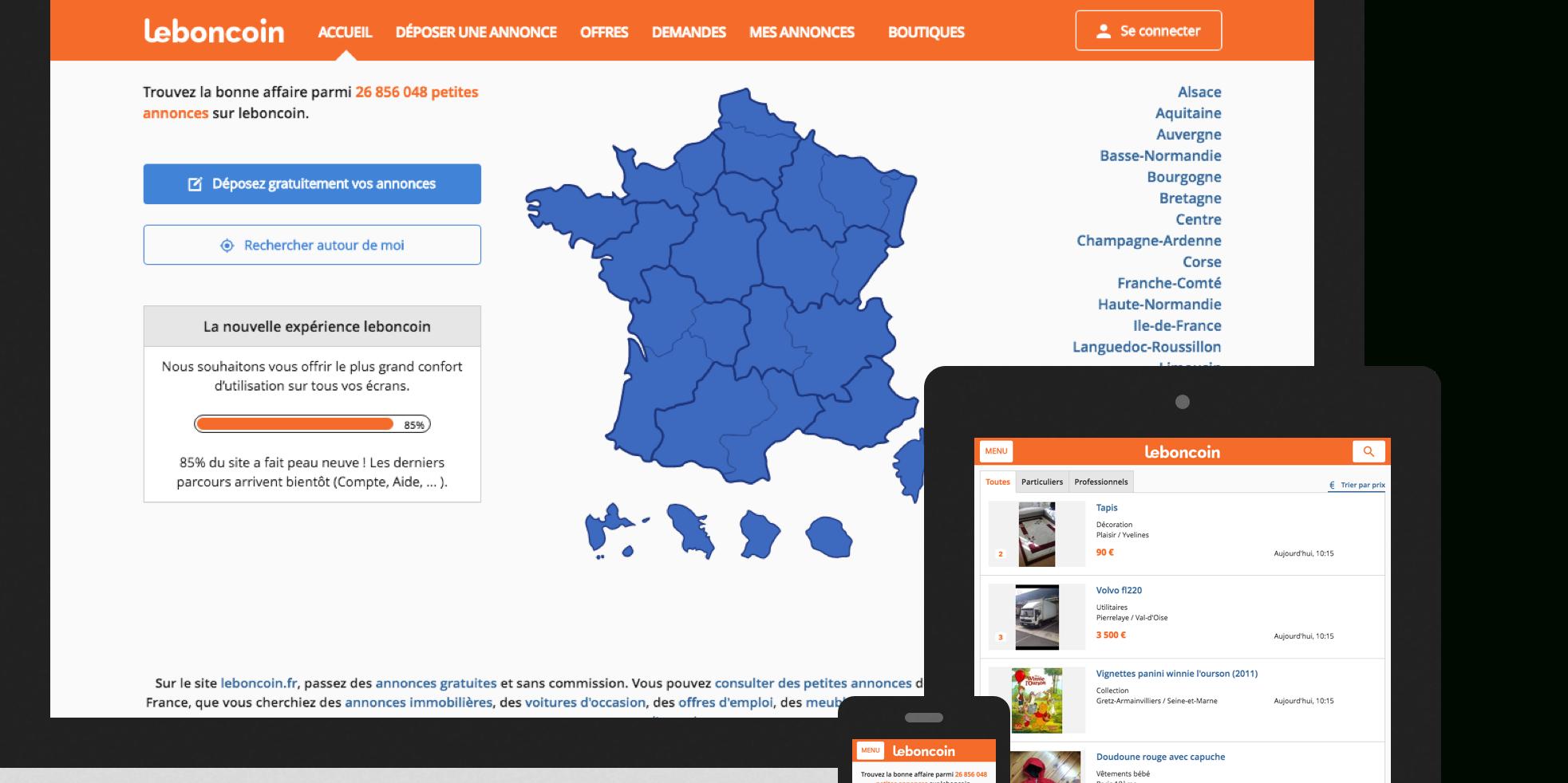 Leboncoin Souffle 10 Bougies Et Invite Sarkozy tout Le Bon Coin 85