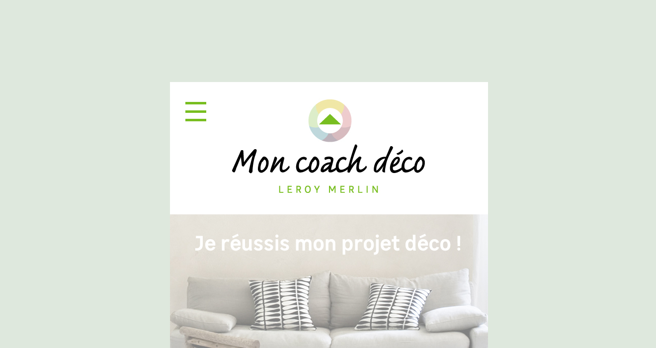 Leroy Merlin - Agence Dig avec Mon Coach Deco