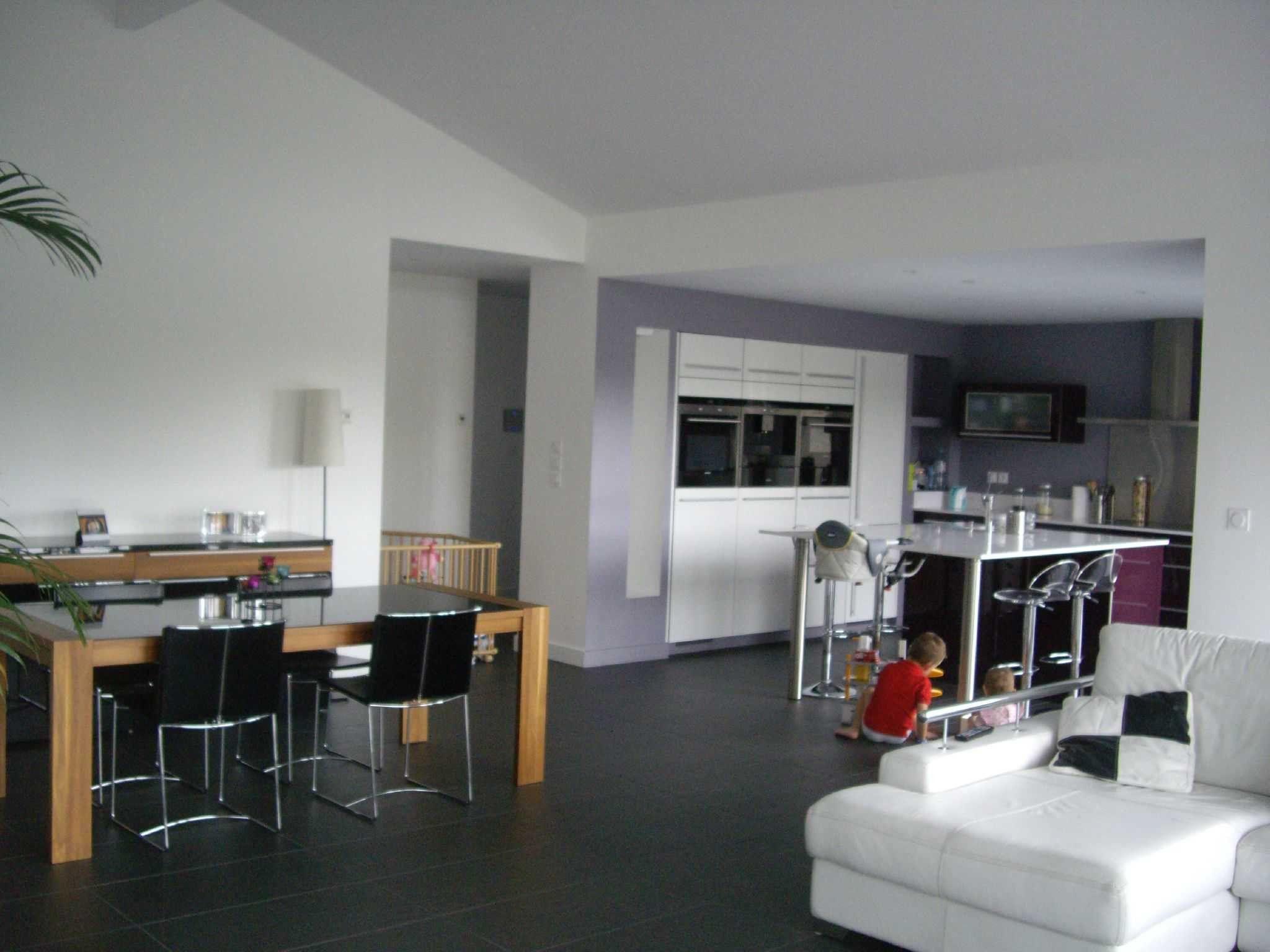Luxury Aménagement Cuisine Salon 30M2 | Home, Home Decor intérieur Cuisine Salon 30M2