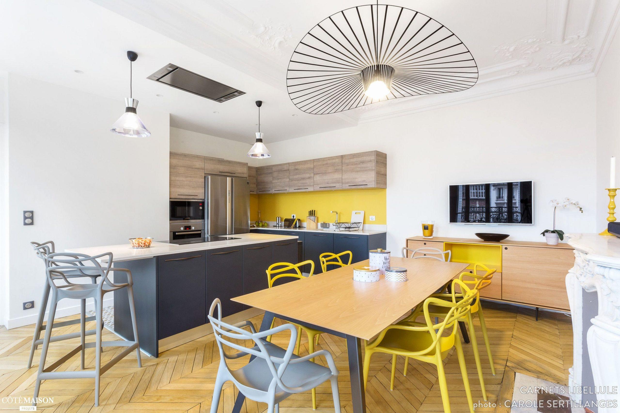Luxury Aménagement Cuisine Salon 30M2 | Kitchen Remodel avec Amenager Salon Cuisine 30M2