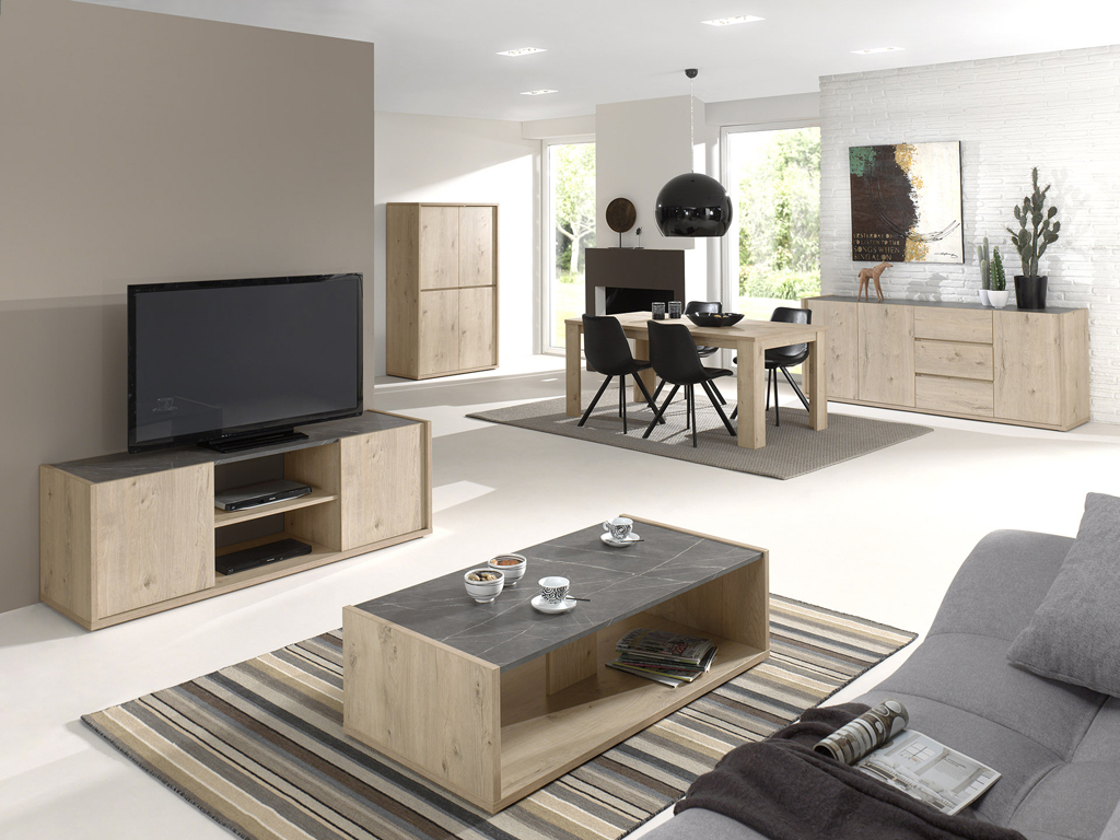 "Mambo Autumn Oak/Grey Marble « Neyt Furniture avec ""Neyt Furniture"""