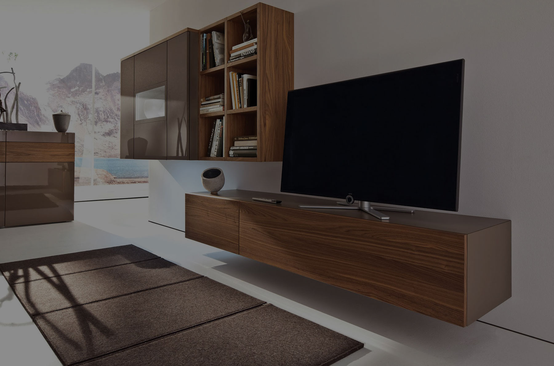 Meuble Tv Design Italien Haut De Gamme - Novocom.top serapportantà Meuble Tv Mural Design Italien