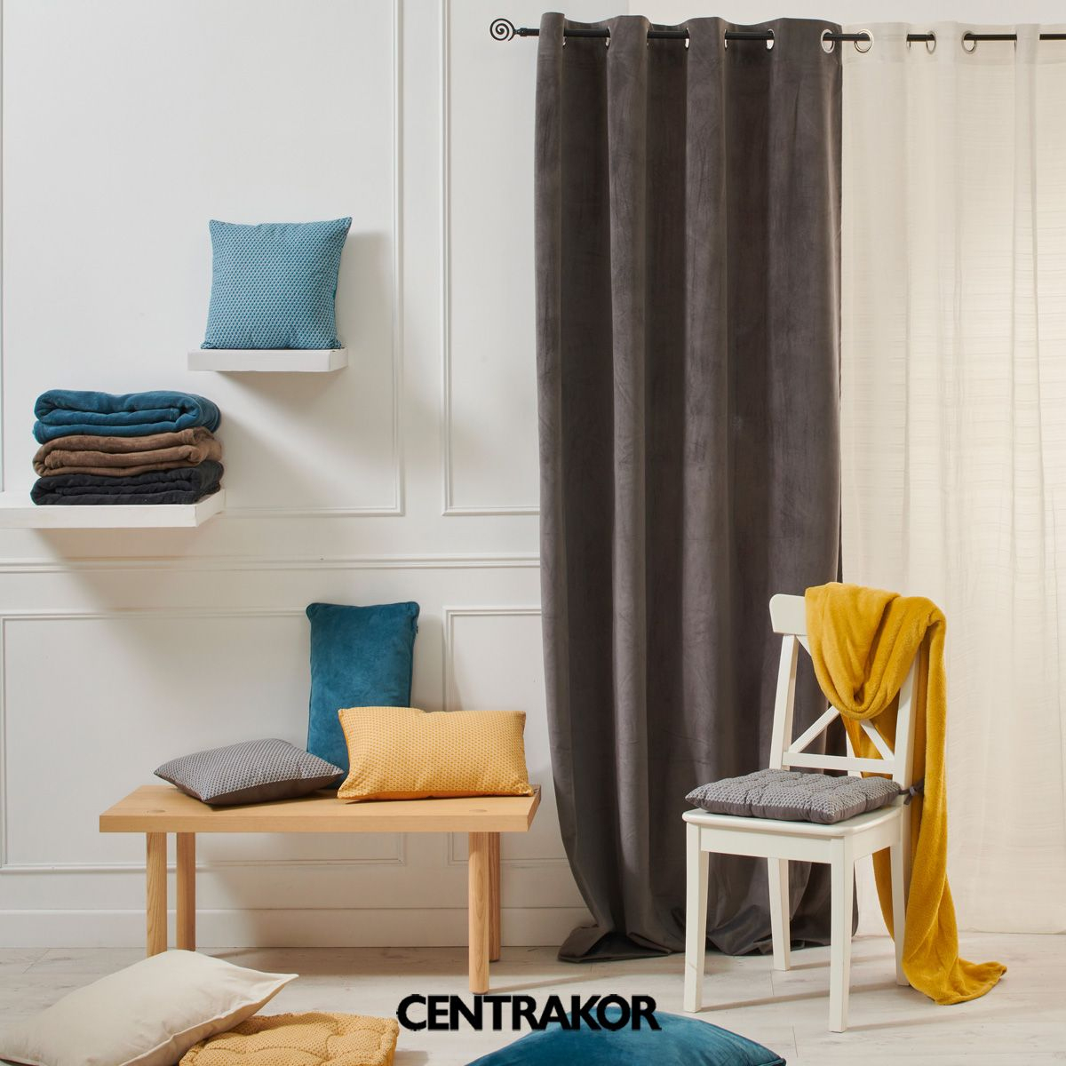 Mon Linge De Maison En 2020 | Mobilier De Salon, Idée De avec Rideau De Porte Centrakor