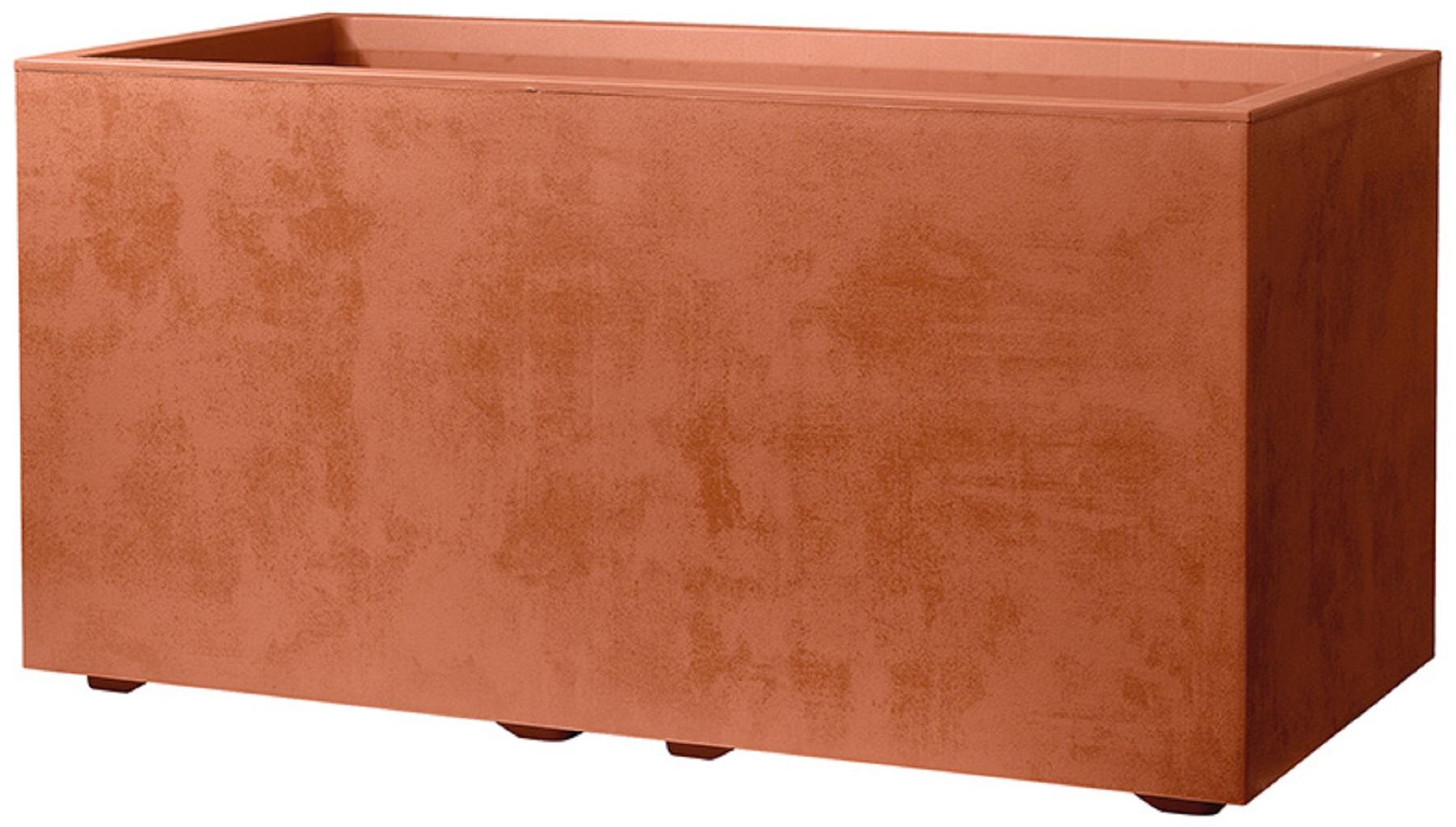 Muret Millenium Corten - L.79 X L.39,50 X H.39 Cm encequiconcerne Bordure Jardin Acier Corten Jardiland