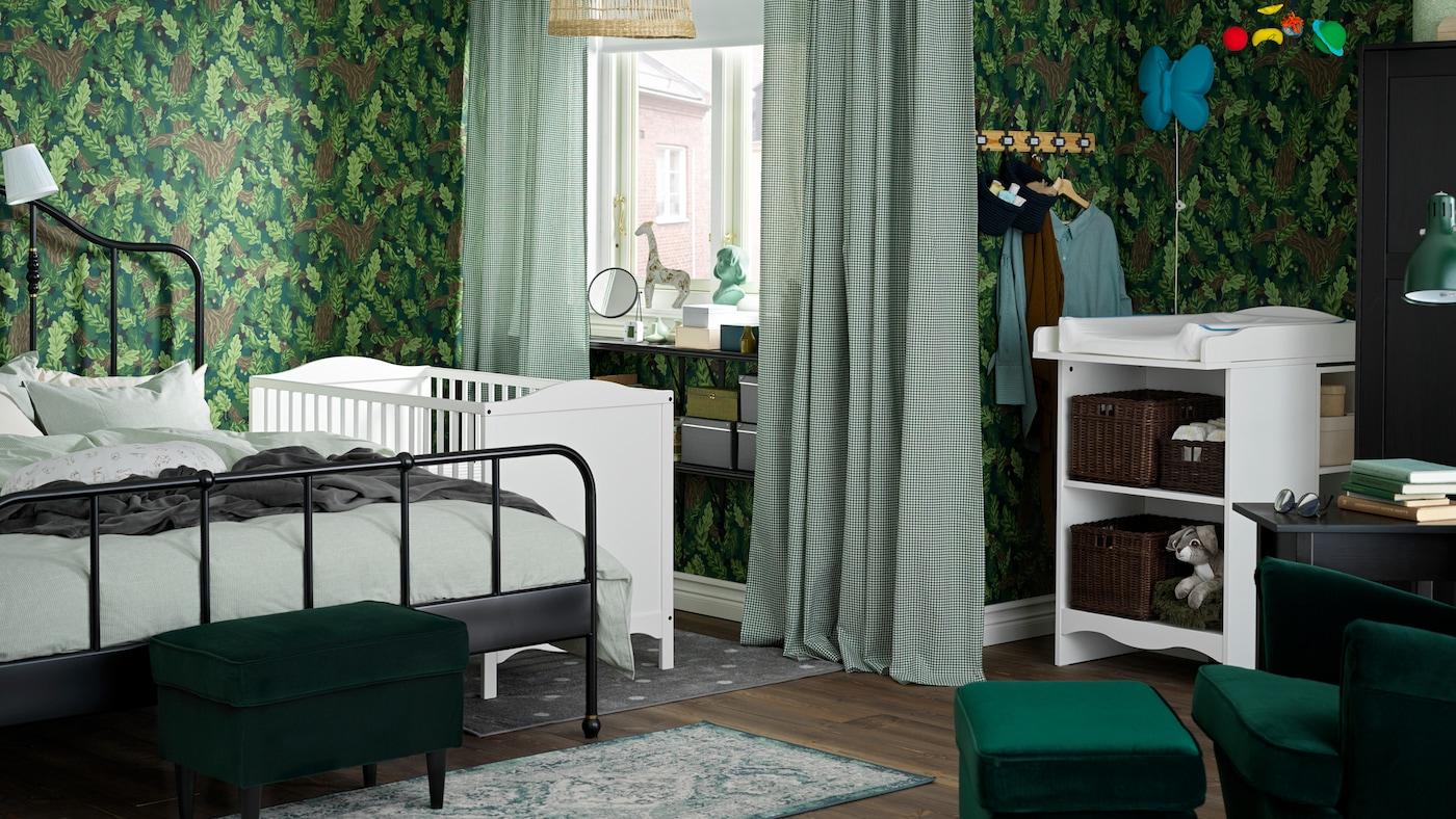Notre Galerie De Photos De Chambre Enfant - Ikea dedans Rideaux Chambre Bébé Ikea