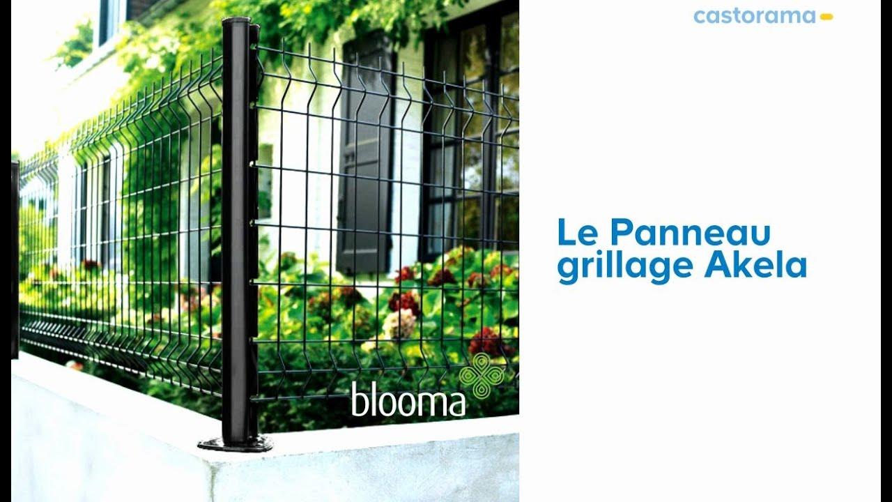 Panneau De Grillage Akela Blooma (293068) Castorama intérieur Grillage Rigide Castorama