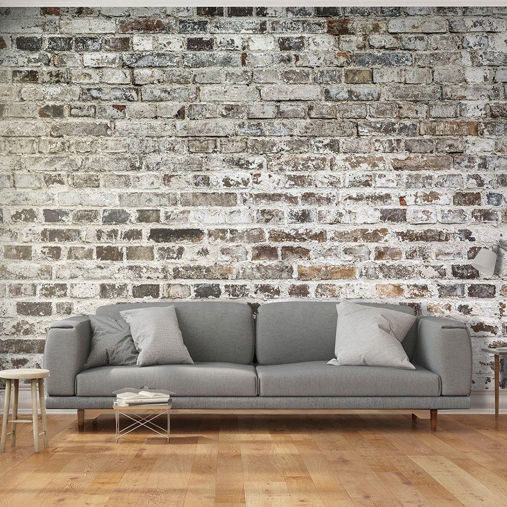 Papier Peint Déco Effet Mur De Briques dedans Rouleau Nappe Papier Gifi