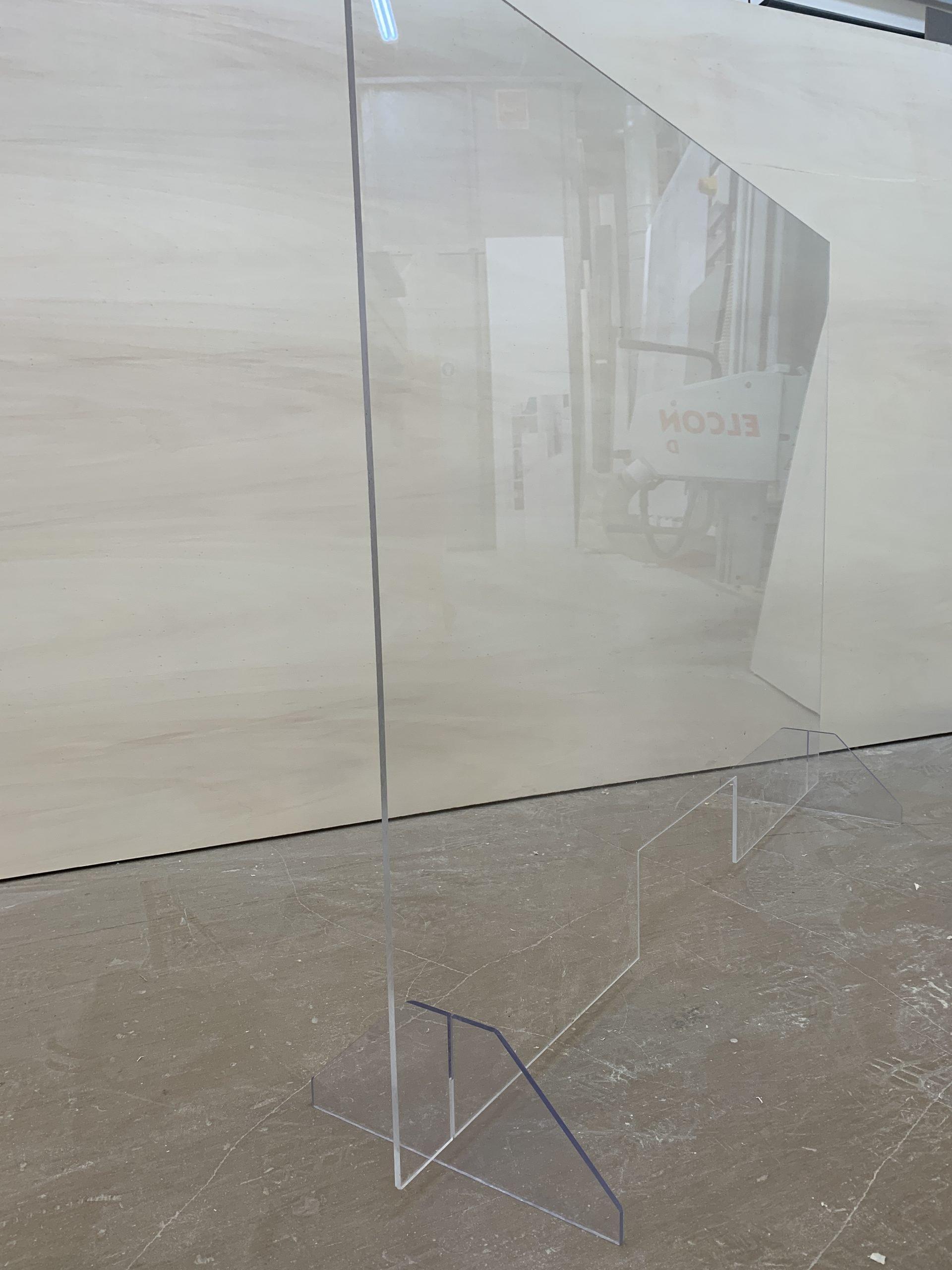 Parafiato Separè Protezione Policarbonato Compatto 4 Mm intérieur Plexiglass Brico
