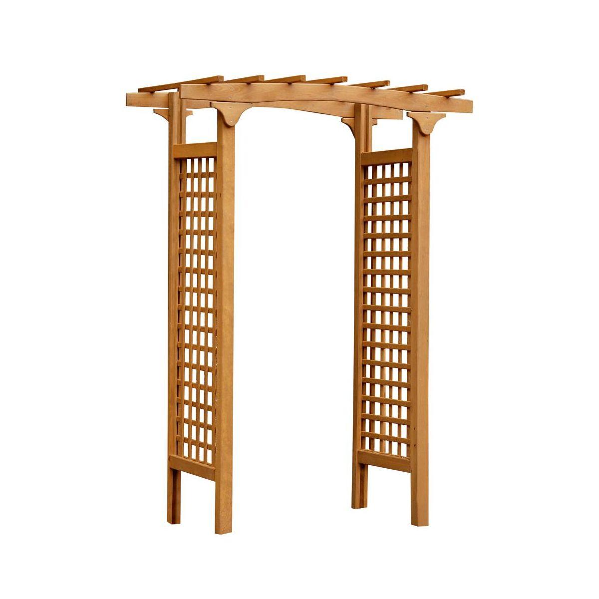 Pergola Ogrodowa 150 X 100 X 218 Cm Drewniana Malva Werth-Holz concernant Pergola Leroy Merlin