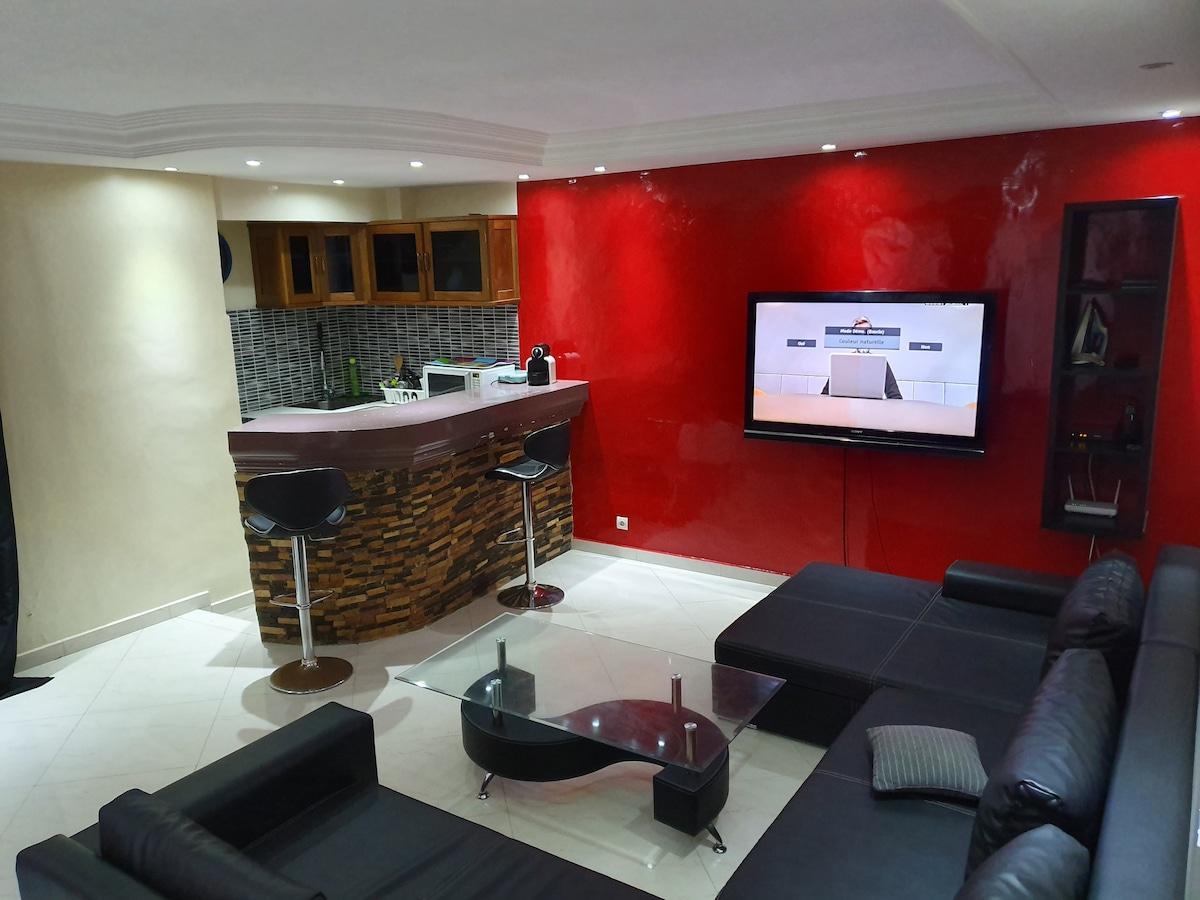 Plage Du Virage Ferienwohnungen & Unterkünfte - Yoff, Dakar intérieur Salon 7 Places Dakar