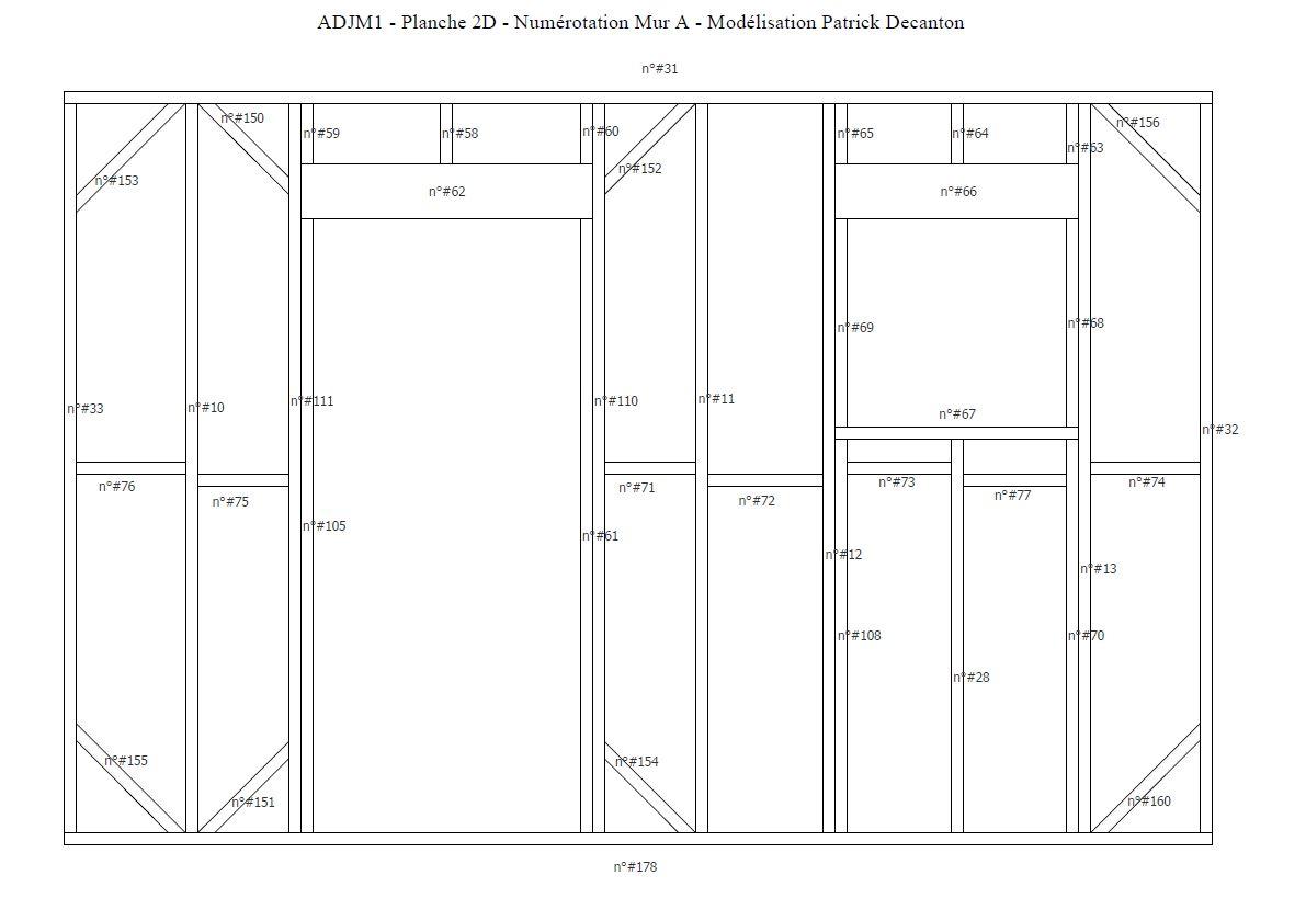 Plans À Ossature Bois Pour Autoconstruction Abri De Jardin intérieur Plan Cabane En Bois Pdf