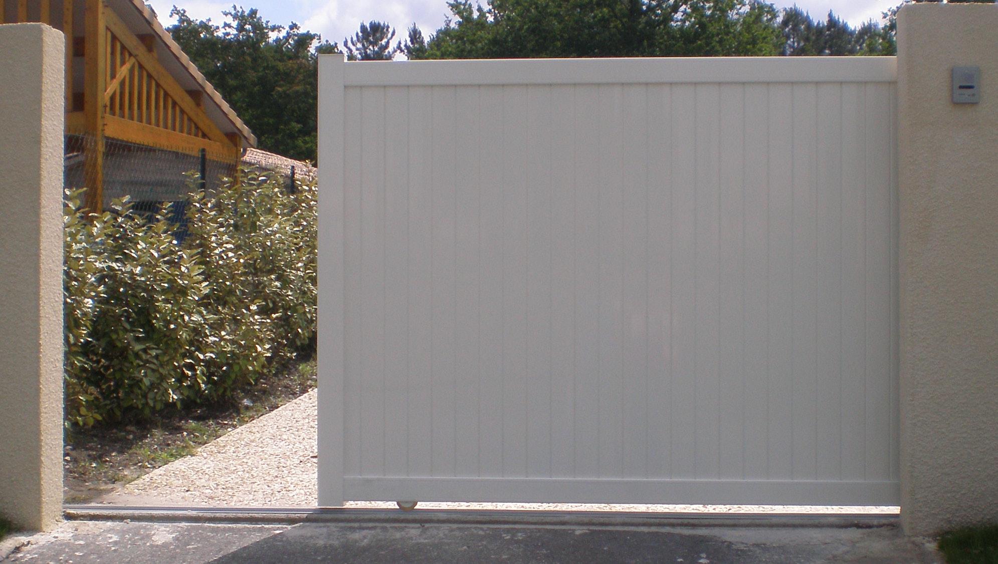 Portail Pvc Opale Brico Depot avec Clôture Pvc Brico Dépôt