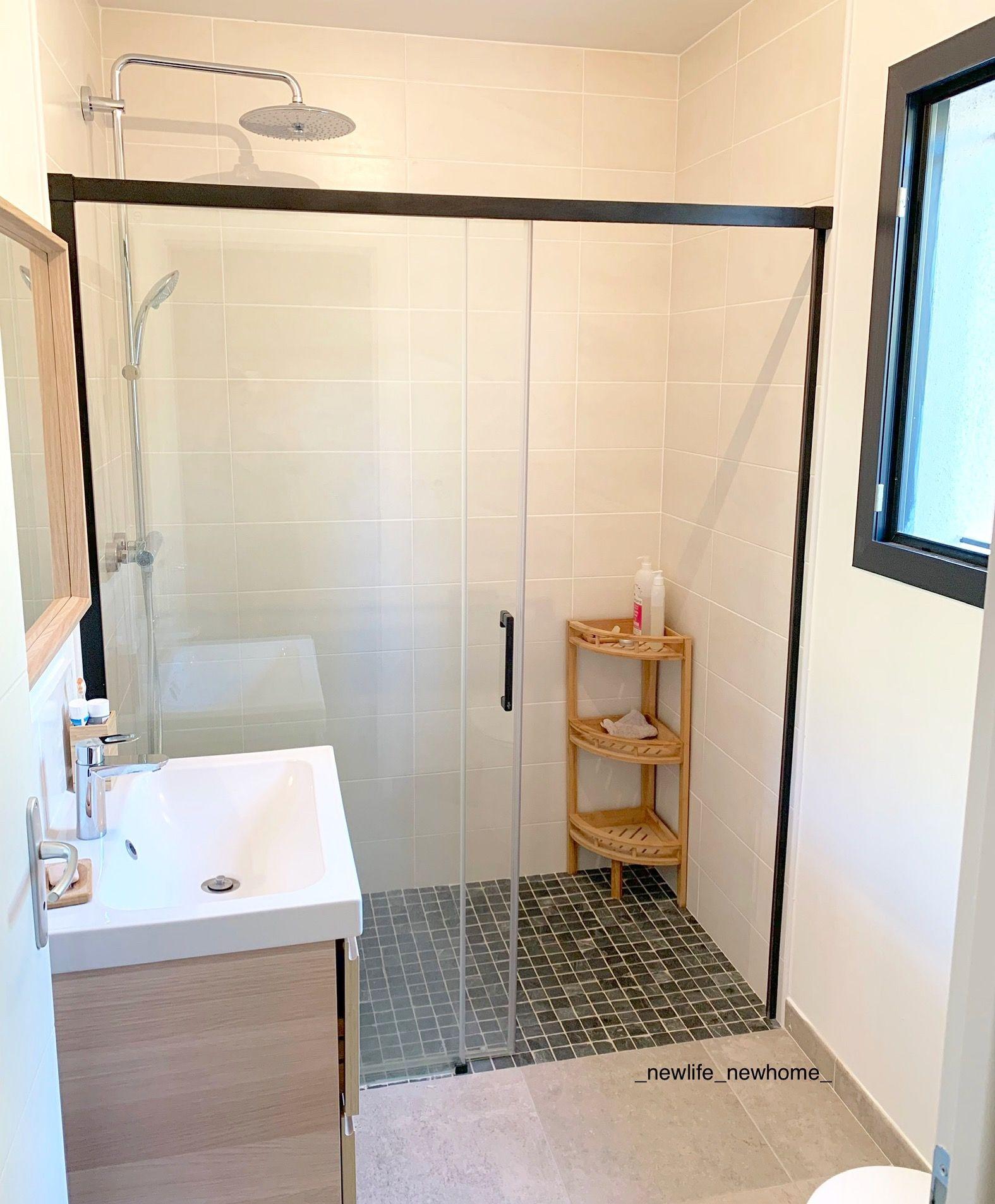 Salle D'Eau   Bathroom, Home, Alcove Bathtub intérieur Ikea Cabine De Douche