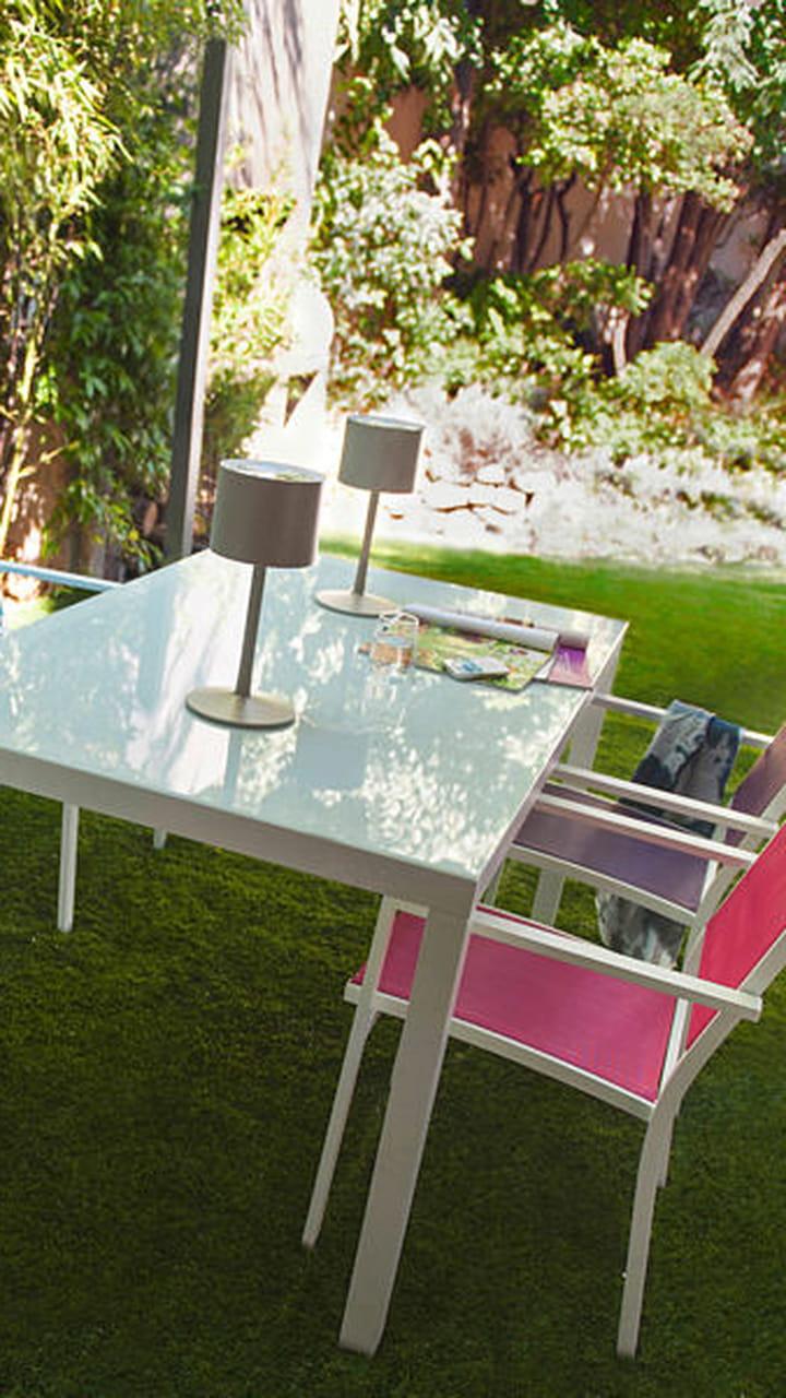 Salon De Jardin Color-Block De Castorama pour Chaises Transparentes Castorama