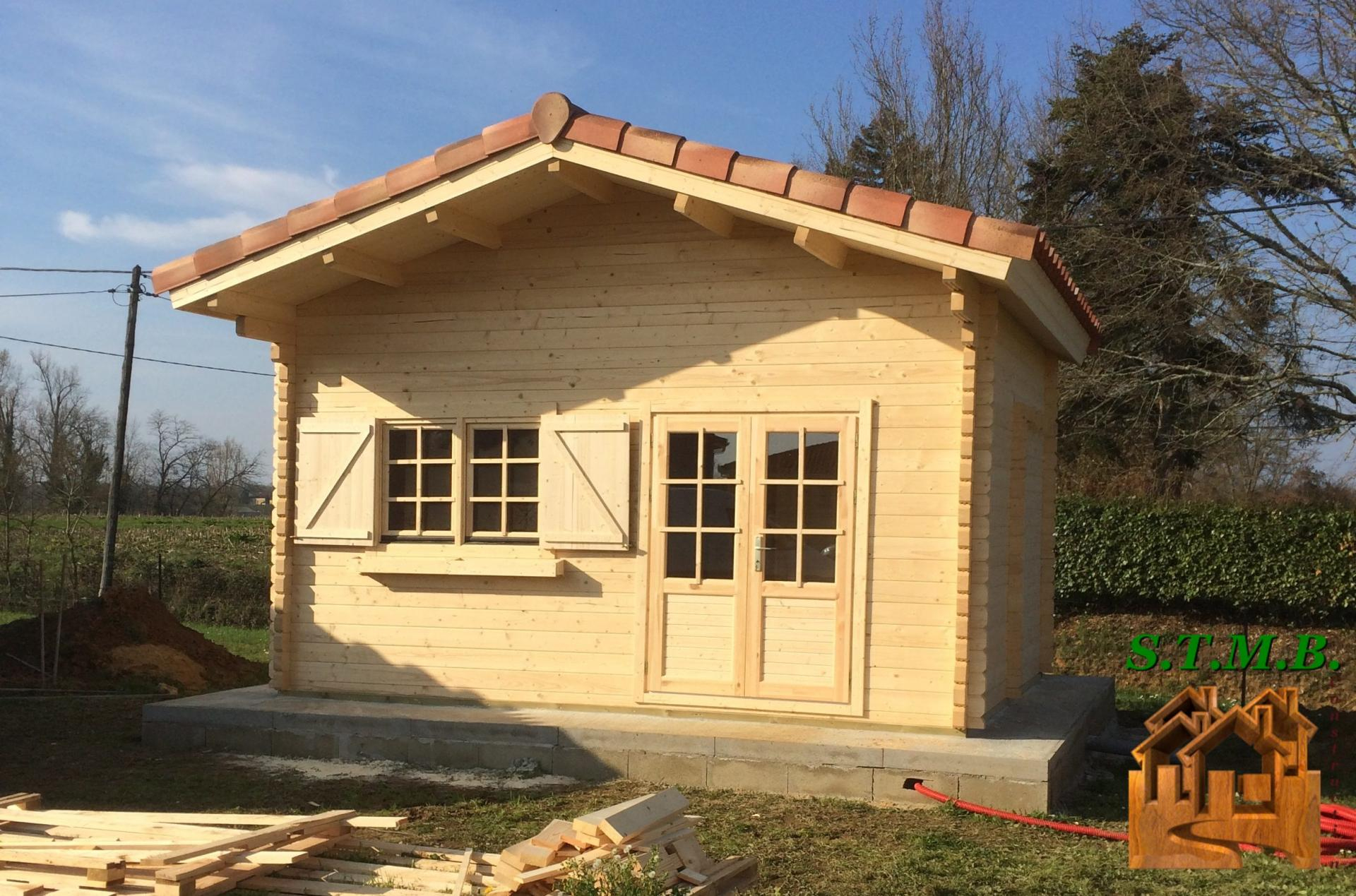 Stmb Construction, Maison De Jardin Et Chalet Habitable En Bois serapportantà Le Bon Coin 40 Abri De Jardin Occasion Particulier