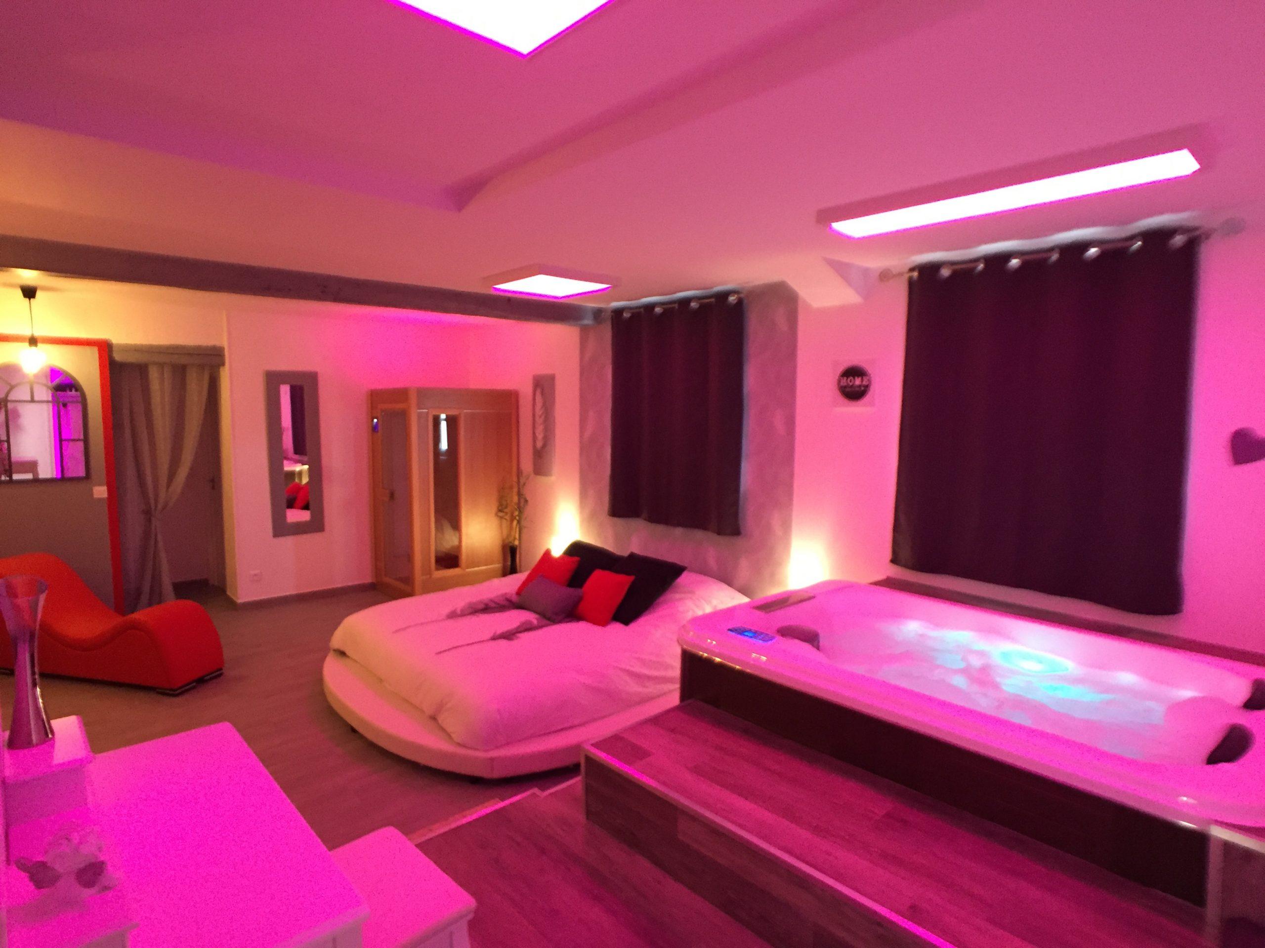 Suite Cupidon Ambre - Spa Et Sauna Privatif - Appartements À encequiconcerne Airbnb Spa Privatif Île-De-France