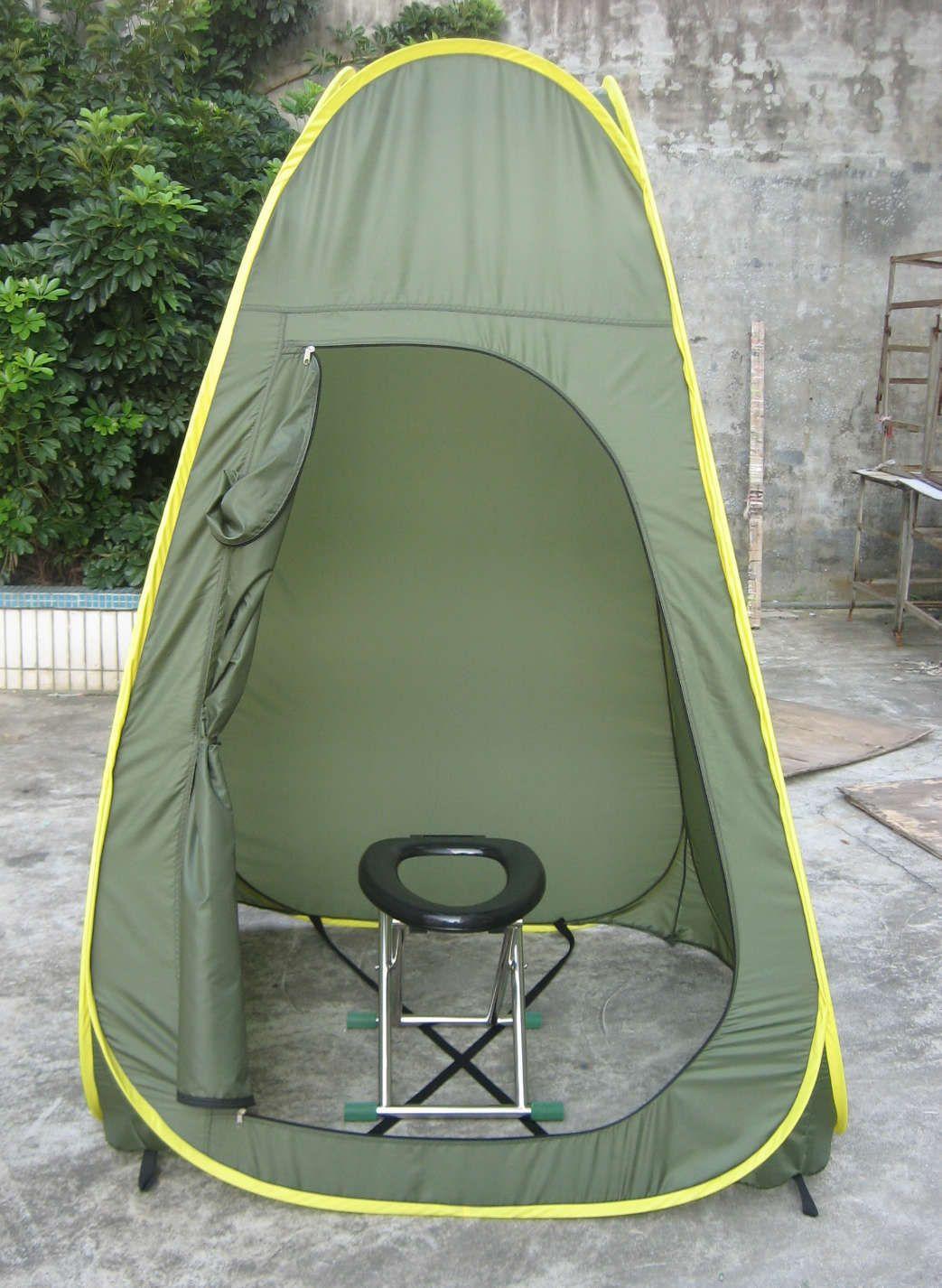 Toilet Tent Portable Privacy Shelter Life Changing Products destiné Toilette Portative Canadian Tire