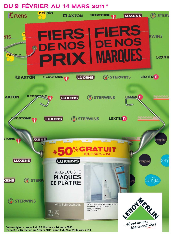Tract Leroy Merlin By Sebastien Vergnes - Issuu à Minuterie Douche Leroy Merlin