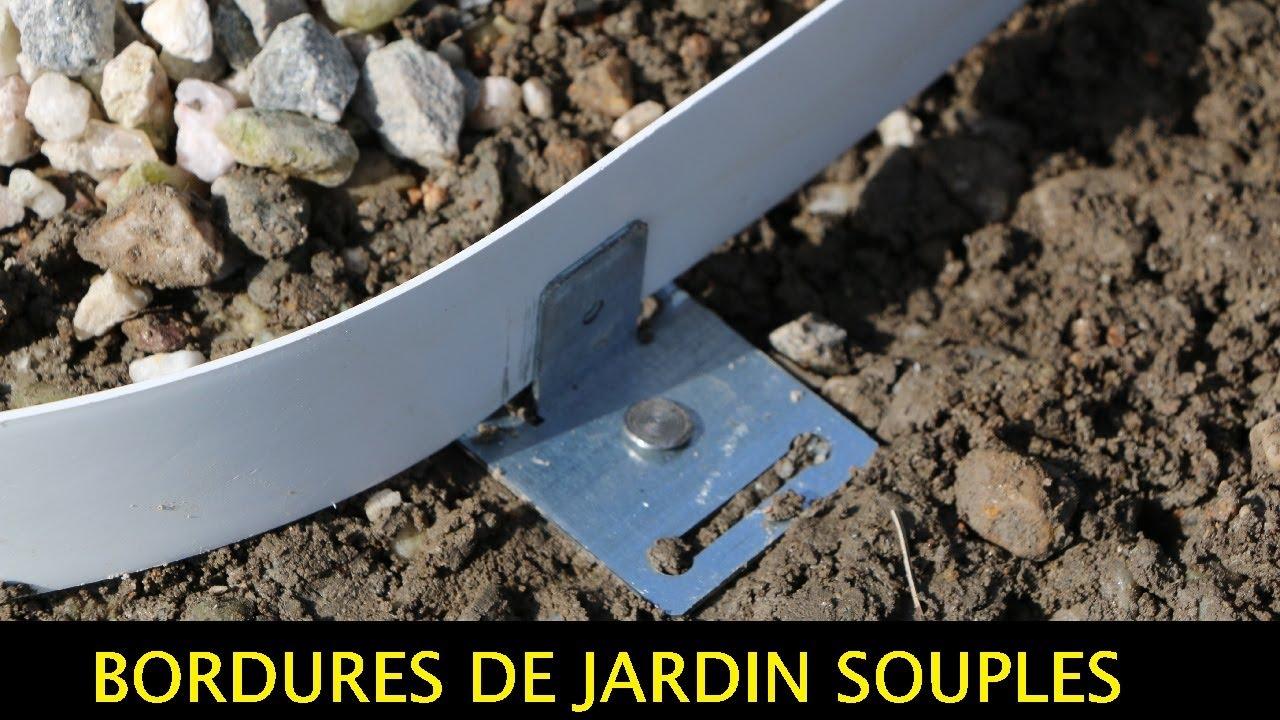Tuto : Comment Poser Bordures De Jardin Souples Pvc-Galva-Corten - Apanages à Bordure Acier Galvanisé Castorama