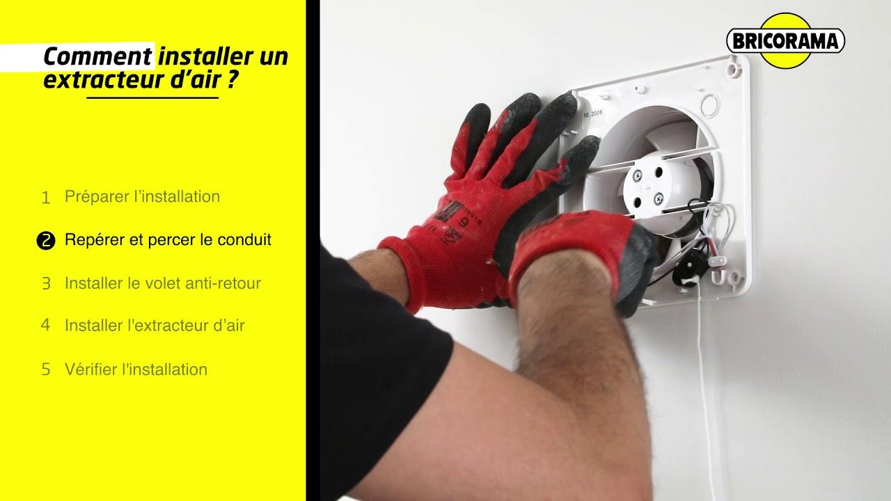 Tuto Installer Un Extracteur D'Air | Bricorama avec Extracteur D'Air Castorama