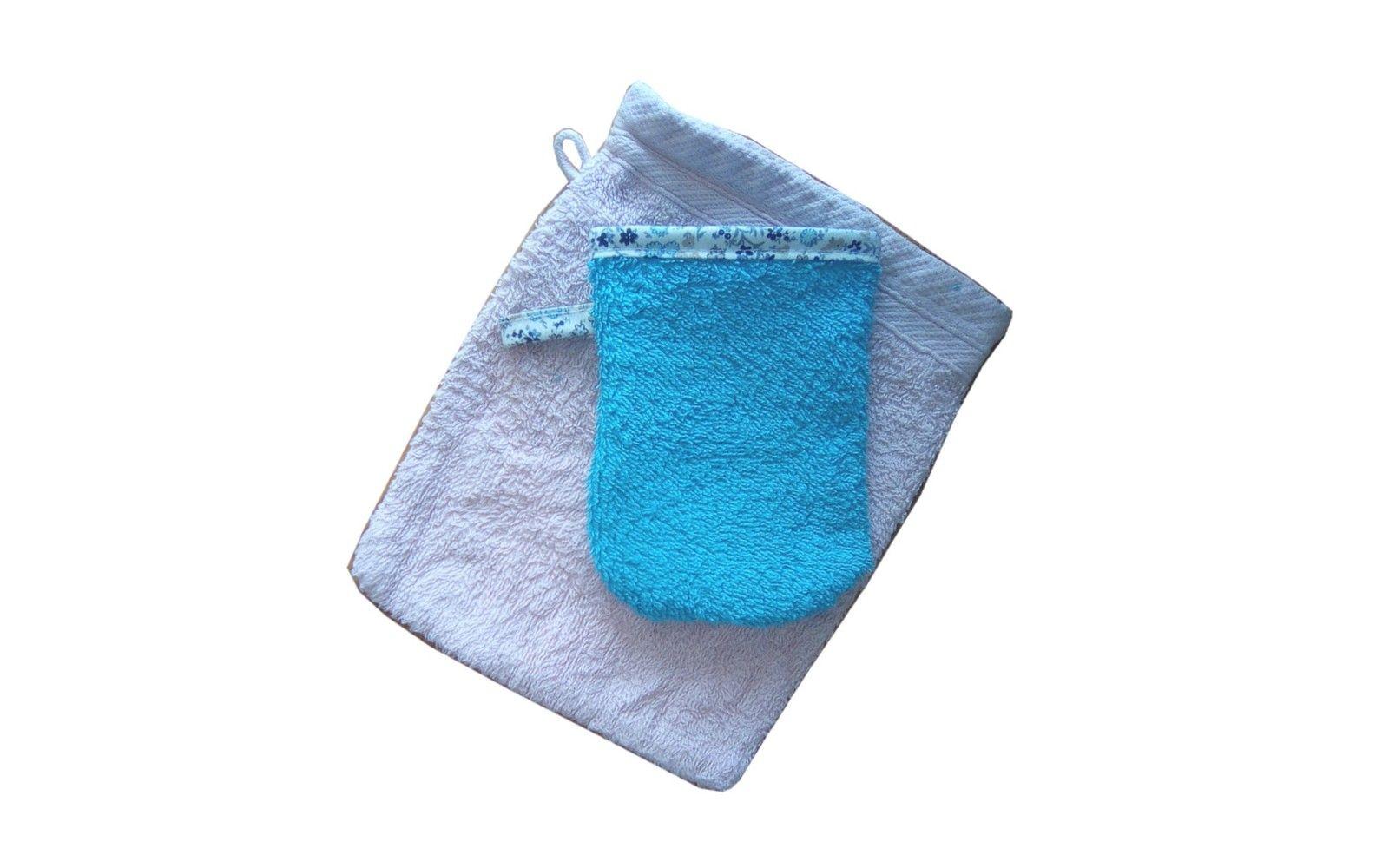 Tuto Mini Gant De Toilette Pour Les Enfants | Gant, Gant pour Tuto Mini Gant De Toilette