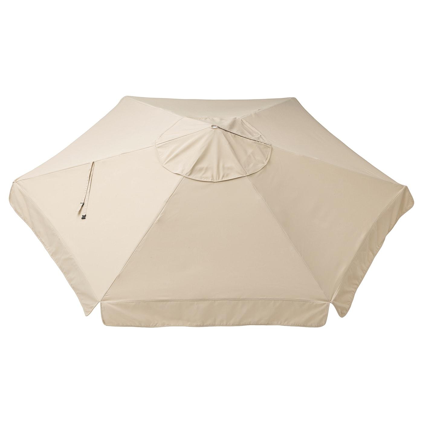 Vårholmen Toile De Parasol - Beige 300 Cm intérieur Toile Pour Tonnelle 3X3 Ikea